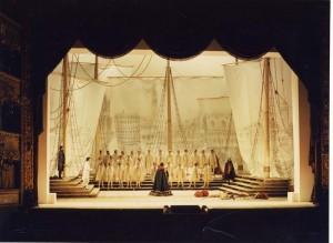 Otello, Teatro la Fenice di Venezia, regia Jean-Pierre Ponnelle.