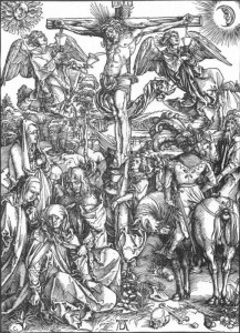 Albrecht-Durer-The-Large-Passion-6.-The-Crucifixion