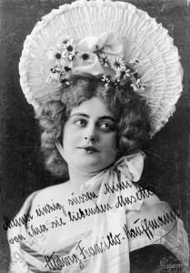 Hedwig Francillo-Kaufmann / Foto 1906 - Hedwig Francillo-Kaufmann / Photo 1906 -